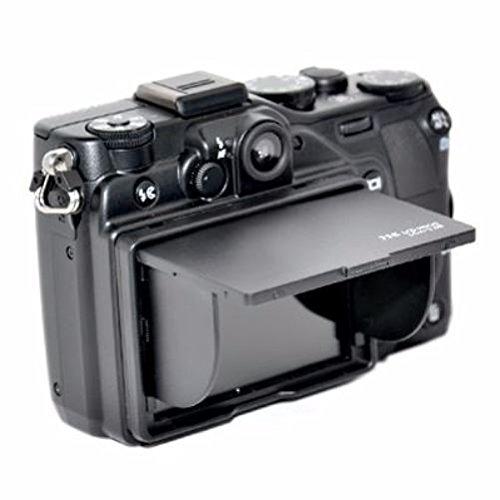 JJC LCD-Bildschirmschutzfolie & abnehmbare Klappe für 6,9 / 7,1 cm (2,7 / 2,8 Zoll) Digitalkamera-Bildschirms (für Canon / Casio / Fujifilm / Kodak / Leica / Nikon / Olympus / Panasonic / Pentax / Ricoh / Samsung / Sony)