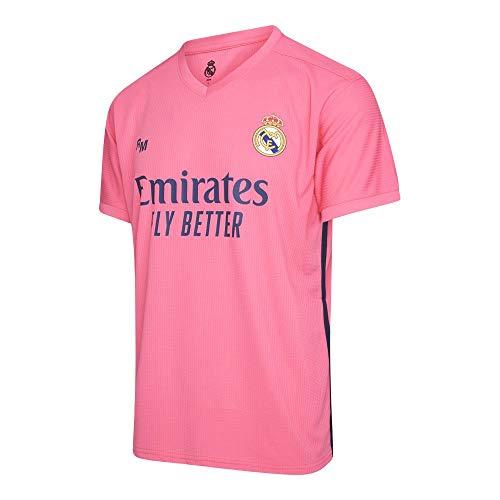 Camiseta Oficial del Real Madrid para Hombre, 2020/2021, Manga Corta, para Entrenamiento...