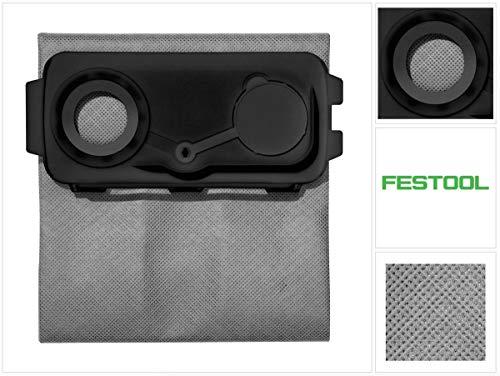Festool Filtersäcke Longlife FIS CT Mini/Midi-2 Herstellernr. 204309, schwarz/grün
