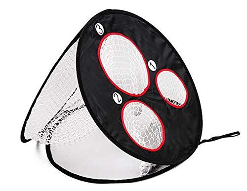 tjz The Golf Practice Net, Multi-Target Cutting Practice Nets, Foldable Swing Practice Nets for Outdoor Indoor Sports Home Backyard Park
