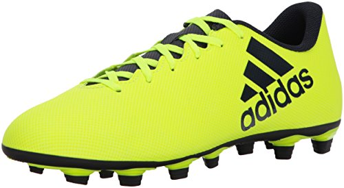 adidas Men's X 17.4 FxG Soccer Shoe, Solar Yellow Legend Ink, 9.5 Medium US