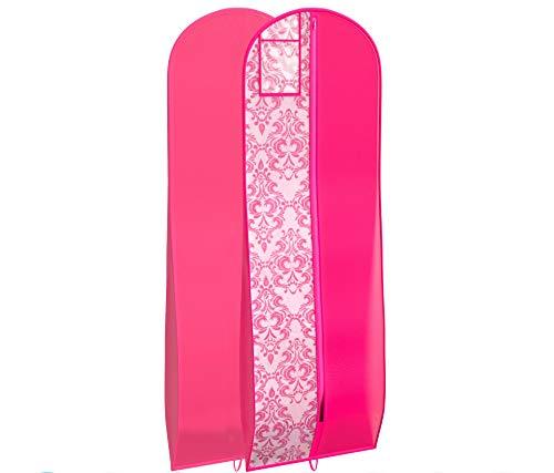 Kleidersack für Hochzeitskleid, ideal für Aufbewahrung oder Reisen, Brautkleid und lange Kleider. - -