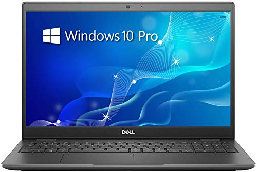"Dell Latitude 3510 Business Laptop, 15.6"" HD Screen, 10th Gen Intel Core i5-10210U Processor, 8GB RAM, 256GB SSD, Webcam, Wi-Fi 6, Type-C, Windows 10 Pro, Black"
