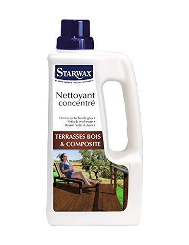 Nettoyant concentré terrasse bois & composite Starwax