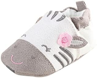 ronamick Babyschuhe - Patucos para niña, Color Gris, Talla Age:6~12 Monate