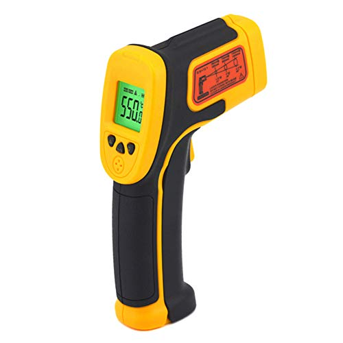 nlgzklsh Infrarot-Thermometer LCD-Display Berührungslose Digitale Thermometer für die Industrie im Außenbereich AS530