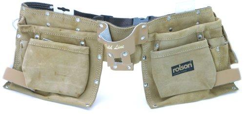 Rolson Tools 68639 Werkzeugschürze mit 11 Taschen