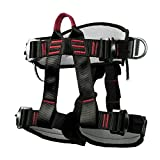 Climbing Harness Safety Thicken Adjustable Half Body Harness for Rock Mountain Tree Climbing <span class='highlight'>Cave</span> Rescue, Industrial and private hardware <span class='highlight'>tools</span>