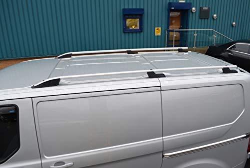 ALVM Teile und Zubehör Aluminium Dachträger, passen L1H1 Transit Custom (2012+)