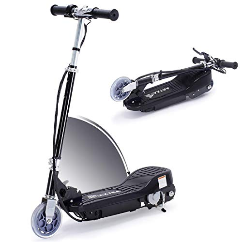Overwhelming Upgrade E100 Adjustable Handlebar Height Folding Electric Scooter...