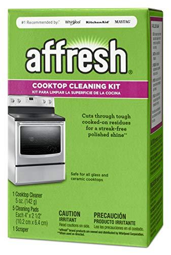 Affresh W11042470 5 oz, 5 Pads Stove Top Cleaner Kit, 1 scraper