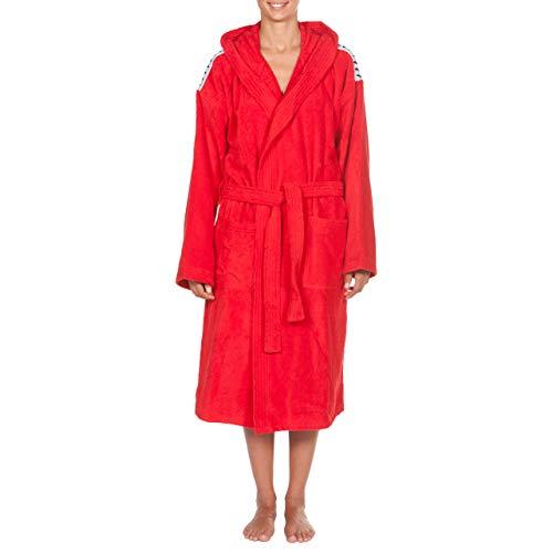 Arena Core Soft Robe, Accappatoio Unisex Adulto, Rosso (Red White), M