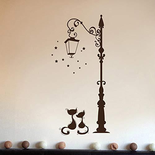 HAODGUO Bonita pasta de gato de moda, pasta divertida para decorar la sala de estar, la televisión, la pared de los niños, el dormitorio BRC08