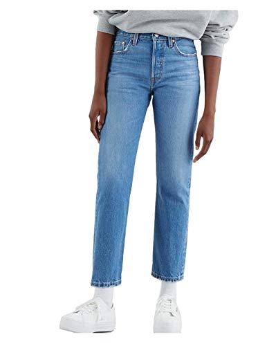 Levi's 501 Cropped Jean pour Femme - Bleu - 30