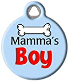 image of Mama's Boy custom pet tag