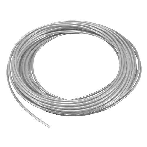 N/A Recharge de Filament pour Stylo d'imprimante 3D, Longueur 32,8 Pieds, diamètre 1,75 mm, PLA, précision dimensionnelle / - 0,02 mm, pour Peinture et Dessin 3D, Gris