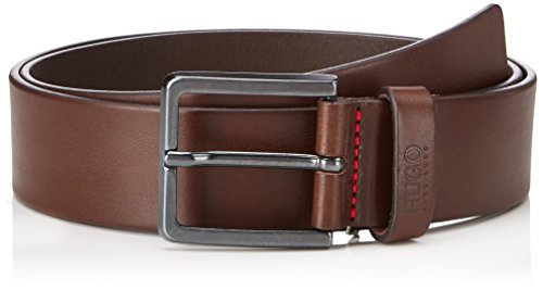 HUGO Gionio_sz40 Ceinture, Marron (Dark Brown 202), 100 Homme
