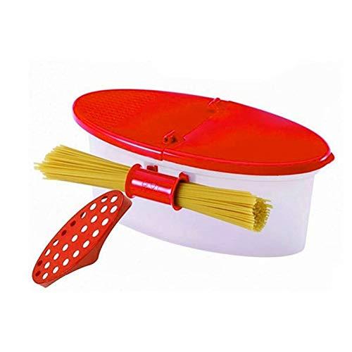 CULER Perfekte Nudelkocher Hitzebeständige Pp Mikrowelle Dampfer Sieb Pasta Mikrowelle Küche Werkzeuge Spaghetti Bowl