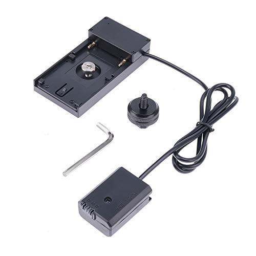 JLWIN NP-FW50 Akku für Sony NP-F970 Netzadapterplatte für NEX 5 NEX 7 Sony A7 A7R A7S A7SII A7II A3000 A5000 A5100 A6000 A6300 DSC-RX10 mit 1/4 Zoll Blitzschuhhalterung