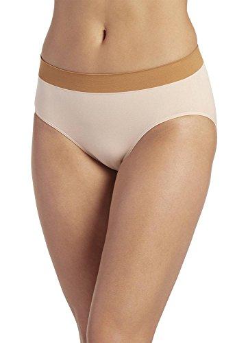 Jockey Women's Underwear Modern Micro Seamfree Hi Cut, Light, 5