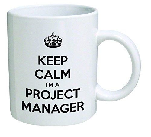 Funny Mug - Keep Calm I'm a Project Manager - 11 OZ Coffee Mugs -...