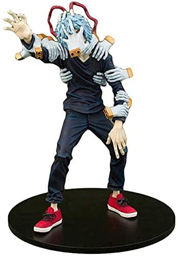 MHA TOMURA Shigaraki / My Hero Academia Figura Estatua Anime Figurine PVC Dibujos Animados Minifiguras Modelo Juguete Coleccionable Decoración de la Decoración Adornos