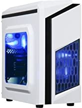 DIYPC DIY-F2-W White SPCC Steel MicroATX Mini Tower Computer Case