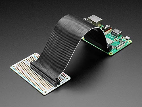 Adafruit Perma-Proto 40-Pin Raspberry Pi Half-Size PCB Kit - with 2x20 Header 4353