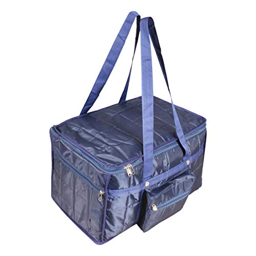 Travel Air Bag Medium Size Very Light Weight, Compact Packing Duffel Bag, Water Resistant, Easy Care Travelling & Storage Bag, Extra top Compartment, Multiple Pockets_Blue