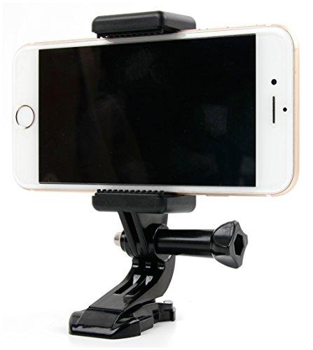DURAGADGET Adaptador Compatible con Smartphone Jiayu S3s Plus / Just5 Blaster 2 / Ulefone Be Touch/Vodafone Smart Prime 6 para Accesorios de cámaras Deportivas y GoPro