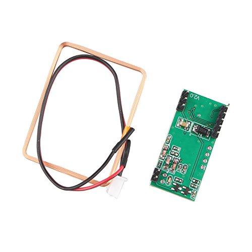 HALJIA RDM6300 125Khz EM4100 Módulo de lector de tarjeta RFID UART RF UART Output Compatible con Arduino