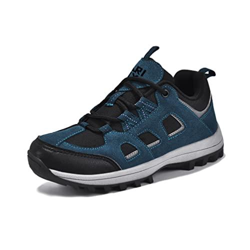 MARITONY Kinderschuhe Jungen Mädchen Kinder Schuhe Wanderschuhe Trekkingschuhe Sportschuhe Laufschuhe Turnschuhe Sneaker, Blau 31 EU