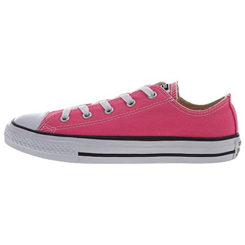 Converse Chuck Taylor All Star Ox Little Kids Shoes Pink Pow/White 357646f (2 M US)