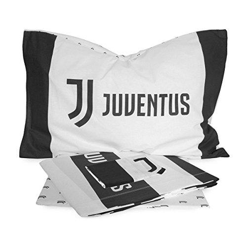 Completo Lenzuola F.C. Juve Juventus Ufficiale per Letto Matrimoniale R971