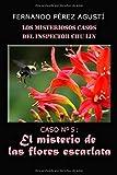 El misterio de las flores escarlata (Los misteriosos casos del inspector Chu Lin)