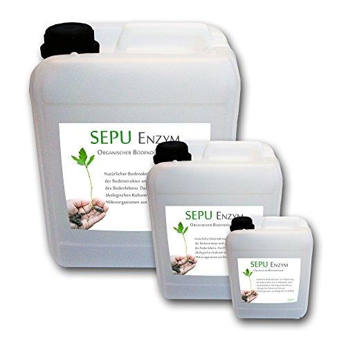 baumgrün Sepu Enzym 25L Effektive Mikroorganismen EM Bodenaktivator organischer pflanzlicher Dünger Bodendünger lebende Enzyme 25 Liter