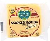 Follow Your Heart Smoked Gouda Style Slices Cheese Alternative, 7 Ounce -- 12 per case.