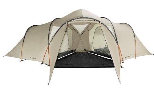 Vaude Badawi Long Tent - 6 Person, Beige
