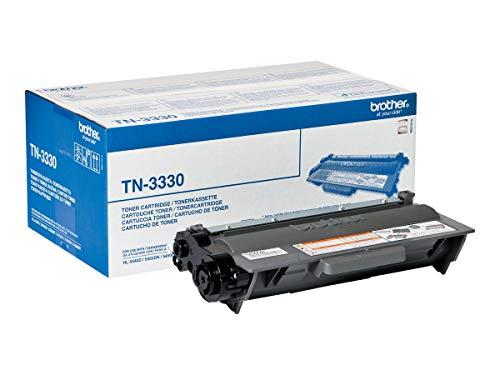 Brother Original Tonerkassette TN-3330 schwarz (für Brother HL-5440D, HL-5450DN, HL-5450DNT, HL-5470DW, HL-6180DW, HL-6180DWT, DCP-8110DN, DCP-8250DN, MFC-8510DN, MFC-8520DN, MFC-8950DW, MFC-8950DWT)