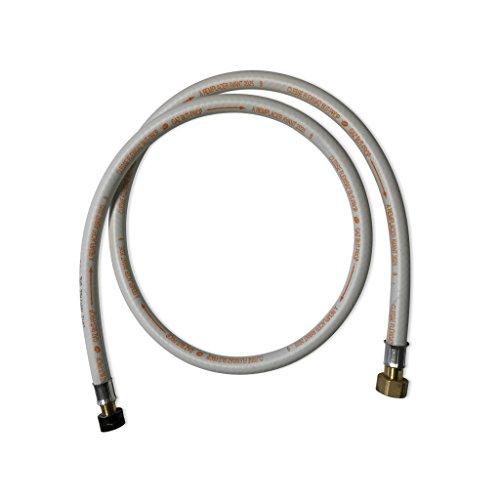 Alice's Garden Flexible gaz NF. Tuyau à Embouts mécaniques - élastomère renforcé. G1/2 - M20x1.5 Validité 10 Ans. Joints Inclus. Propane ou Butane. 1.5m