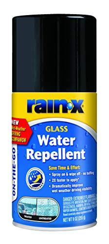 Rain-X 630167 On-The-GO Glass Water-Repellent Aerosol 9 oz.