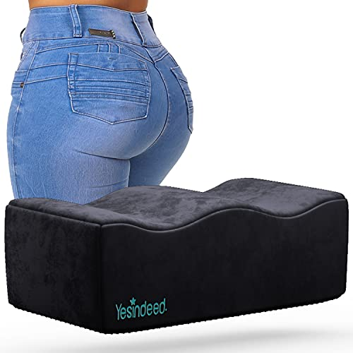 Brazilian Butt Lift Pillow – Dr. Approved for Post Surgery Recovery Seat – BBL Foam Pillow + Cover Bag Firm Support Cushion Butt Support Technology…