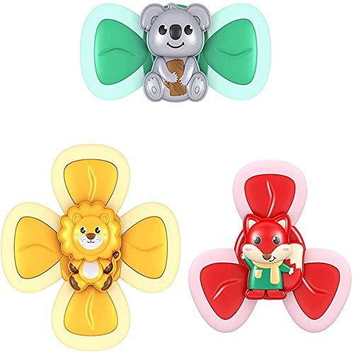 N\A Saugnapf Top Spielzeug Baby Bad Spielzeug Sicheres Und Lustiges Saugspielzeug, Baby Gehirnentwicklung, Baby Intensives Training 3PCS A