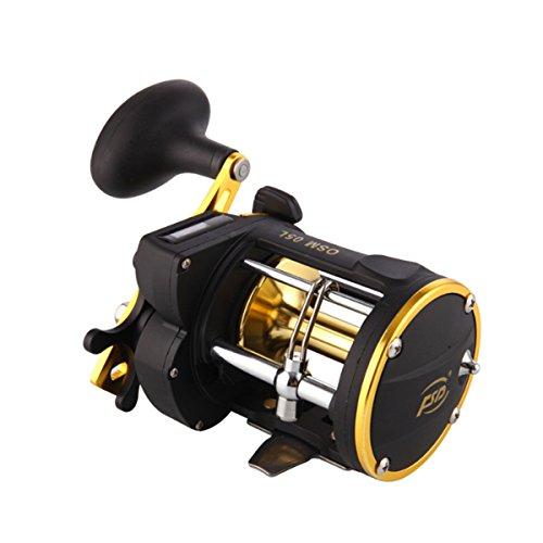 Power Line Counter Trolling Fishing Reels OSM05L Multiplier Reels