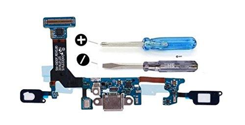 MMOBIEL Connettore Dock Compatibile con Samsung Galaxy Samsung Galaxy S7 G930F Porta per caricare Micro Cavo Flessibile incl cacciaviti