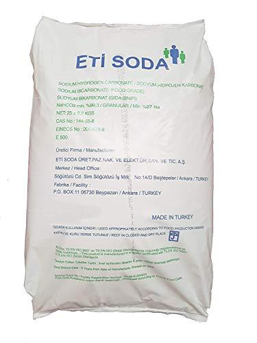 Bicarbonato de Sodio 25kg, Insumo Ecológico de Origen Natural, Producto CE.