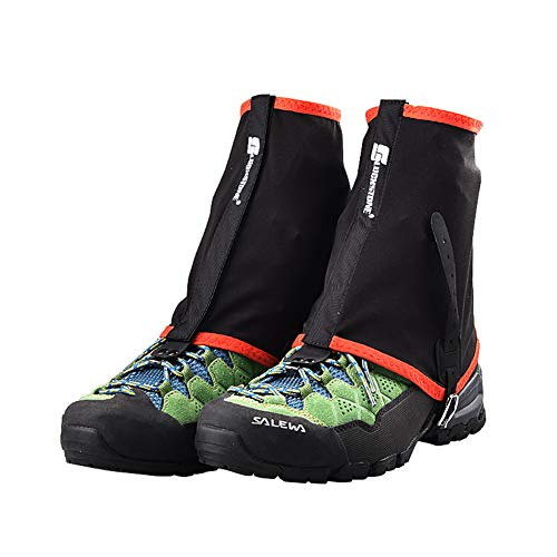 Sanmum Trail Low Gaiters Ankle Walking Gaiters Prevent Sand Protective Shoe Covers Windproof Hiking Gaiters