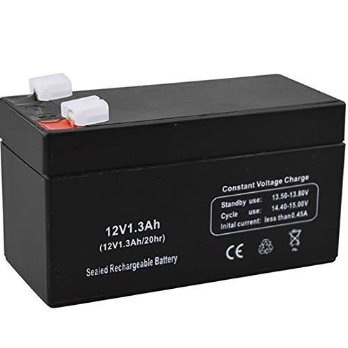CENYAFAN Sustitución del acumulador de plomo-ácido de la luz 12V 1.3AH 12V1.3AH batería for niños de coches de juguete porta bebé Escala electrónica del escritorio LED Herramienta de montaje de piezas