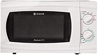 Singer Maxiwave 20S 1200 Watts Microwave Oven with 20 L Capacity (White)