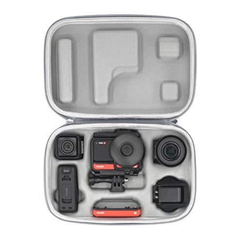 CALALEIE Una R Carry Case bolsa for Insta 360 Accesorios un R Piezas de montaje...